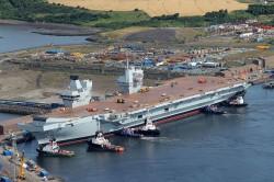 英國2艘航母2020部署南海 美媒懷疑針對中國