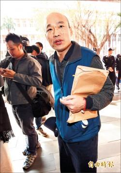 查北農菜蟲 檢約談總經理韓國瑜/列犯罪嫌疑人 訊後暫時請回
