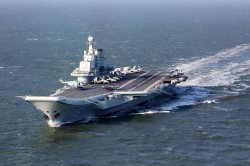 遼寧號有缺陷 不適高強度作戰