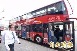 (體驗片)北市雙層觀光巴士首航  居高臨下遊台北