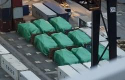 終於還車了! 香港扣押新加坡9輛裝甲車 今送回星國