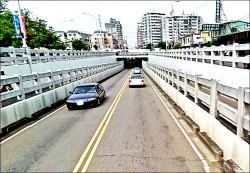 鐵路高架沿線地下道 107年陸續填平