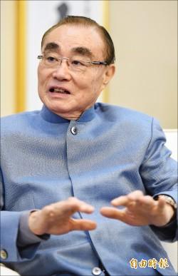 星期專訪》國防部長馮世寬:國防自主 力抗中國文攻武嚇