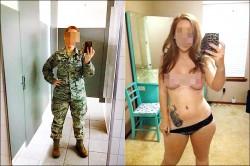 美陸戰女兵裸照 男同袍群組瘋傳