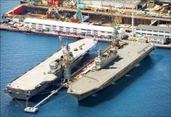 制衡中國 日本最大護衛艦「加賀號」服役