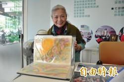 黃金奶奶走出低潮 樸實「畫」說人生