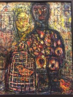 李素貞畫筆下的台灣苦難歷史 首次在日個展