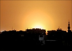 以色列轟敘利亞 炸真主黨軍火庫