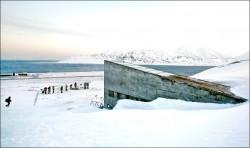 暖化影響永凍土 北極「末日種子庫」進水