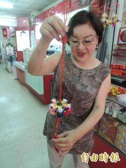 象徵多子求「好孕」 南瓜香包受歡迎