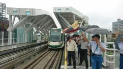 高雄輕軌C8至C12站履勘 改善4缺失就能通車