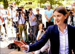 塞爾維亞提名 首位女同志總理