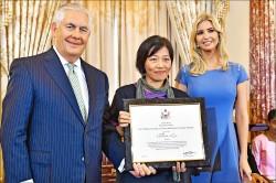 捍衛外籍漁工權益 李麗華獲美頒英雄獎