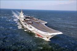遼寧號再度穿越台海 我機艦監控