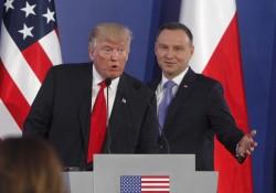 川普訪波蘭 指俄國可能干預美國大選