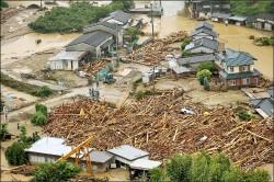 豪雨轟九州 6死50萬人撤離