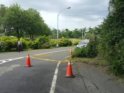 婦人騎車經陸橋遭落石砸中 提國賠求償