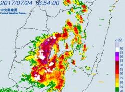 防劇烈降雨!雲、嘉、投發布大雷雨訊息