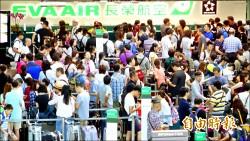 長榮空服集體請天災假 逾萬旅客跳腳