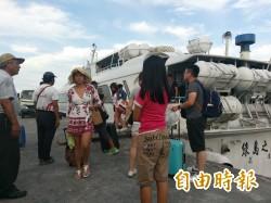 天鴿颱風形成 綠島、蘭嶼明天疏運島上旅客