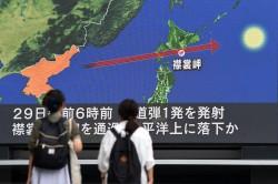 北韓射彈穿過日本 日防相:與揚言打關島飛彈同款