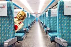 安娜貝爾搭高鐵...未申請就拍照 華納恐挨告
