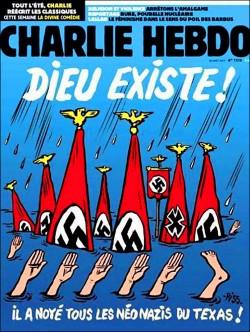諷哈維受害者為新納粹 查理週刊惹議