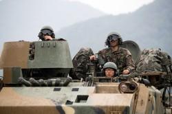 防北韓突襲 南韓在西北邊境島嶼大舉軍演