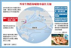 日大地震海嘯 百萬生物搬家