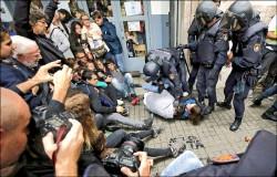 加泰隆尼亞獨立公投》反制中央打壓… 獨派「佔領」投票所
