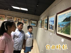 桃彩聯盟「畫」說台灣之美  中山國小學童:畫得太像了