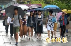 午後天氣漸好轉    吳德榮:下週有利颱風生成
