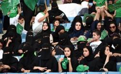沙國女權再躍進 2018開放女性進入體育館