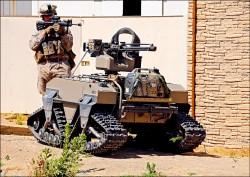 機器人、自駕車 漸成地面戰主力