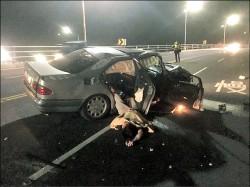 誰開我的車? 酒駕撞死女騎士裝傻