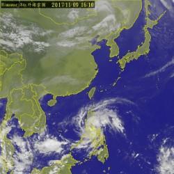 第24號颱「海葵」恐成形 外圍雲系週末影響台灣