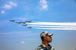 對美韓嗆聲? 中國空軍:已在朝鮮半島附近軍演