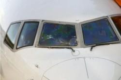 駕駛艙窗戶破裂 達美東京飛關島客機緊急降落