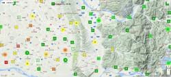 PM2.5監測「網」 即時空污e把罩