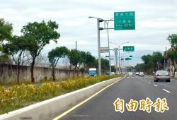 迎接2018台中花博   園區周邊省道路面改善完成