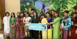 蔡總統:香蘭娘惹糕、薑黃飯 現也是台灣美食