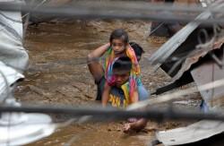 「天秤」颱風強襲菲律賓 死亡人數增至133