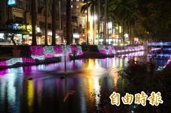浪漫護城河!風城耶誕燈海成熱門打卡夯景