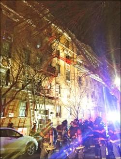 美國紐約 25年來最嚴重火災