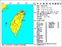41年來最大!北投5.7地震 與大屯火山群無關