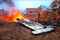介入敘內戰逾2年 俄戰機首遭反抗軍擊落