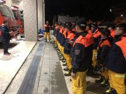 花蓮強震樓塌 台南市特搜隊23人火速支援救災