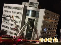 深夜大地震重大災情 花蓮驚傳兩棟樓倒塌