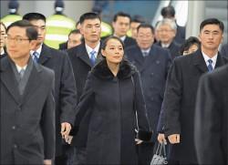 金正恩妹抵南韓 冬奧失焦
