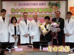 太罕見!62歲婦自然產下第二胎 與36歲大女兒同天生日